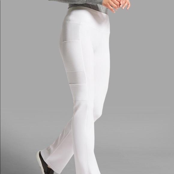 c1fcc88f168 Jaanuu Pants   Nwt White Yoga Scrub   Poshmark